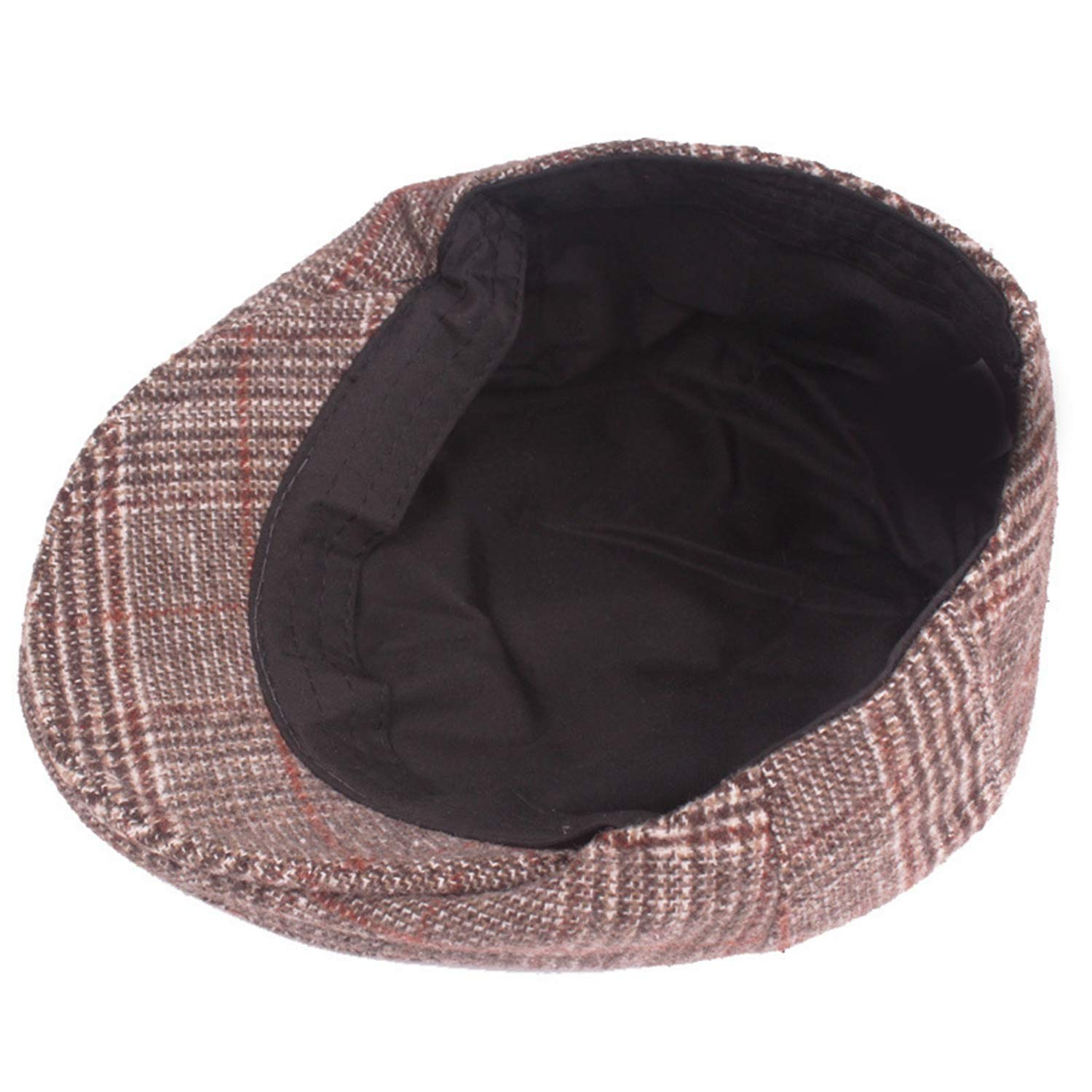 Winter Hat Mens Casual Fashion Cotton Berets Outdoor Checkered Tongue Cap Male Bone Dads Hat Trucker Caps for Men