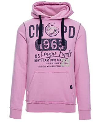 wholesale price new lifestyle elegant shoes Camp David DNM Academy feded pink Sweatshirt with Hood CCD-1902-3468