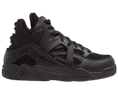 Fila Mujer 101015625Y Negro Cuero Zapatillas Altas: Amazon.es: Zapatos y complementos
