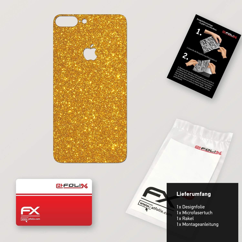 FX-Velvet-Black Superficie Mate atFoliX Skin Compatible con Apple iPhone 7 Plus Sticker Pegatina