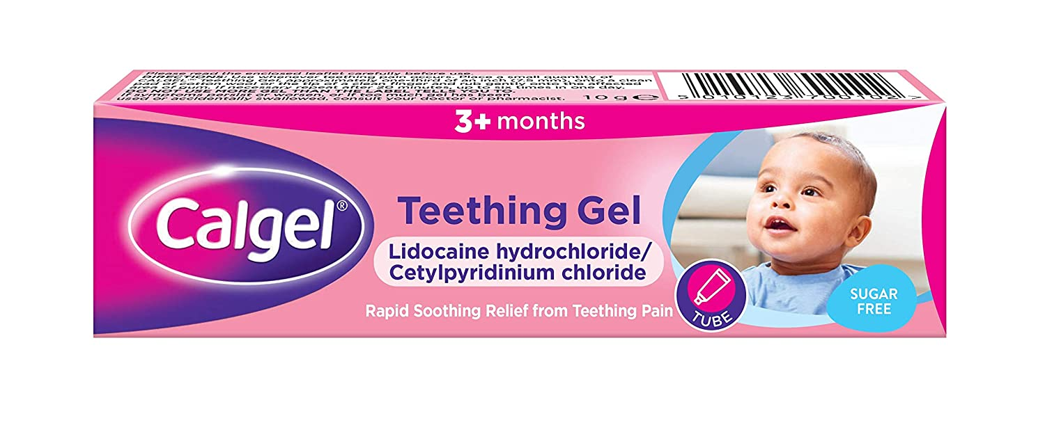 Calpol Calgel Teething Gel , 10g, Packaging May Vary Johnson and Johnson 5441303