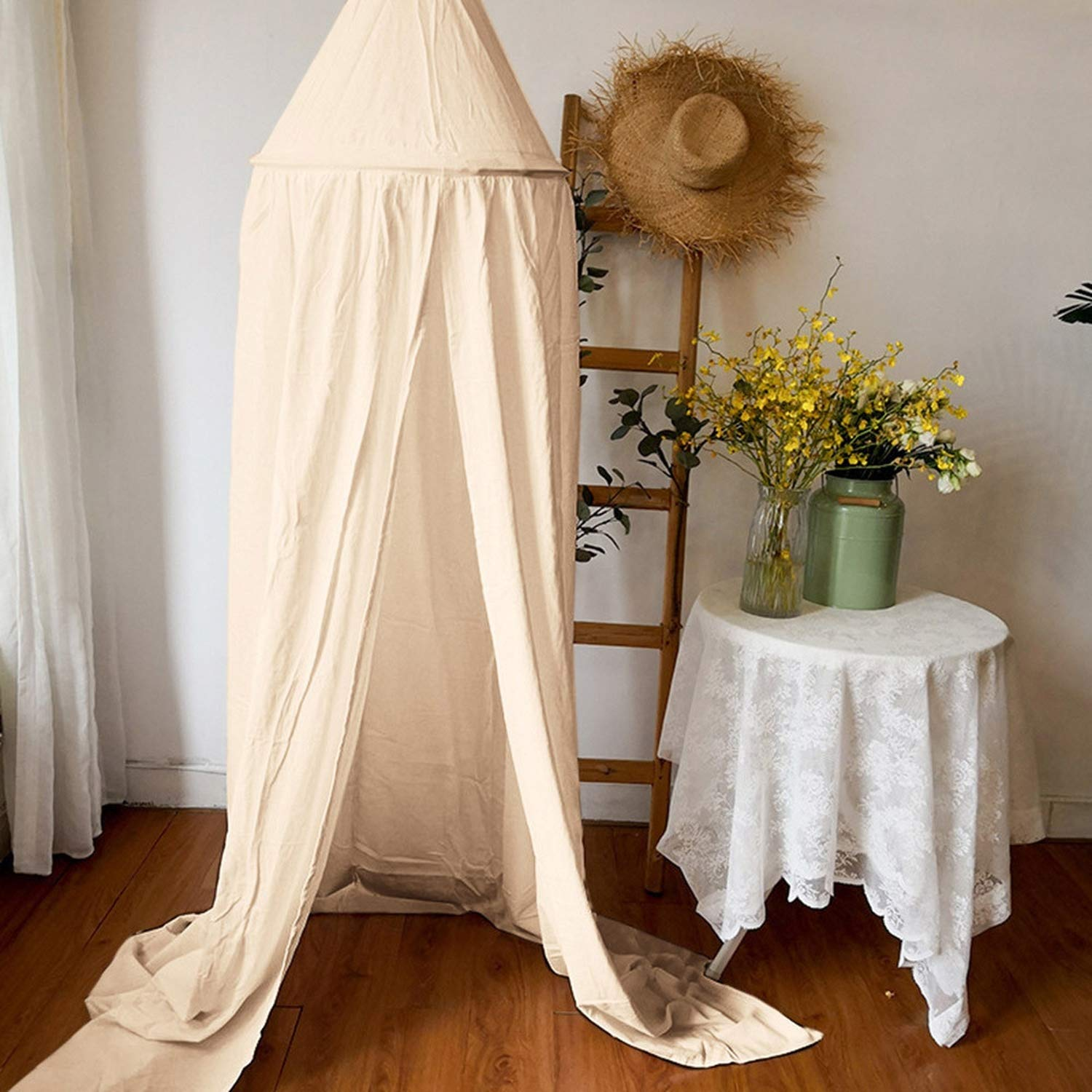 Baby Bed Canopy Bedcover Round Mosquito Net Curtain Modern Simple Home Textile Living New Patterns,WH by Alovelycloud bed curtain (Image #4)