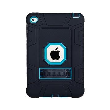 TianTa Funda iPad Mini 4 Híbrido Tres Capas PC + Silicona ...
