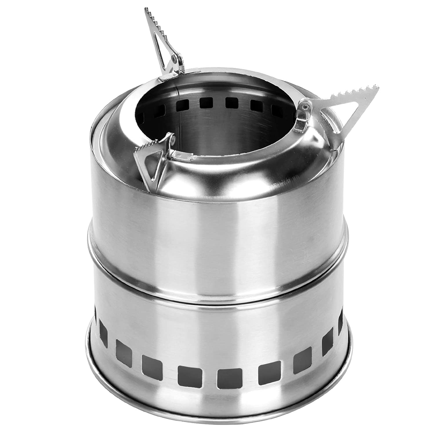 Portable Mini Alcohol Aluminum Alloy Stove Outdoor Camping Picnic Hiking Cook TW