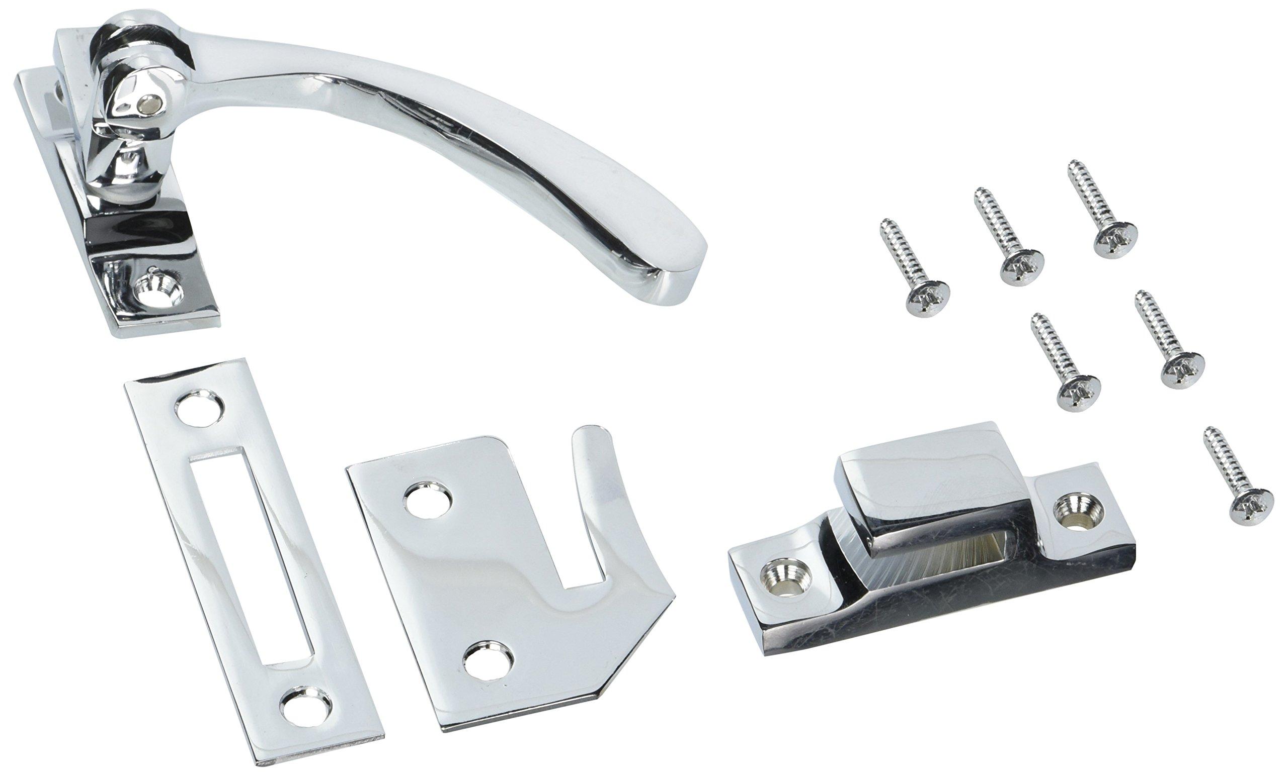 Deltana CF450U26 4.5-Inch Reversible Casement Fastener Window Lock