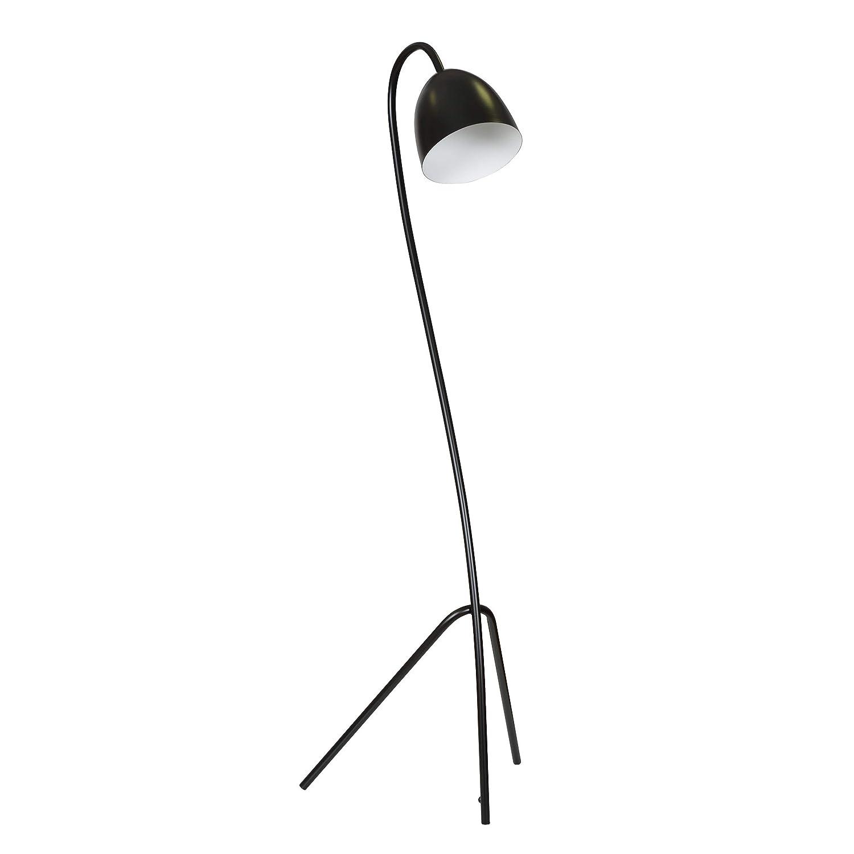 Dreibein Stehlampe Fiete Schwarz Gold 140cm Skandinavisch Niedrig E27 Wohnzimmer Stehleuchte Amazon De Beleuchtung