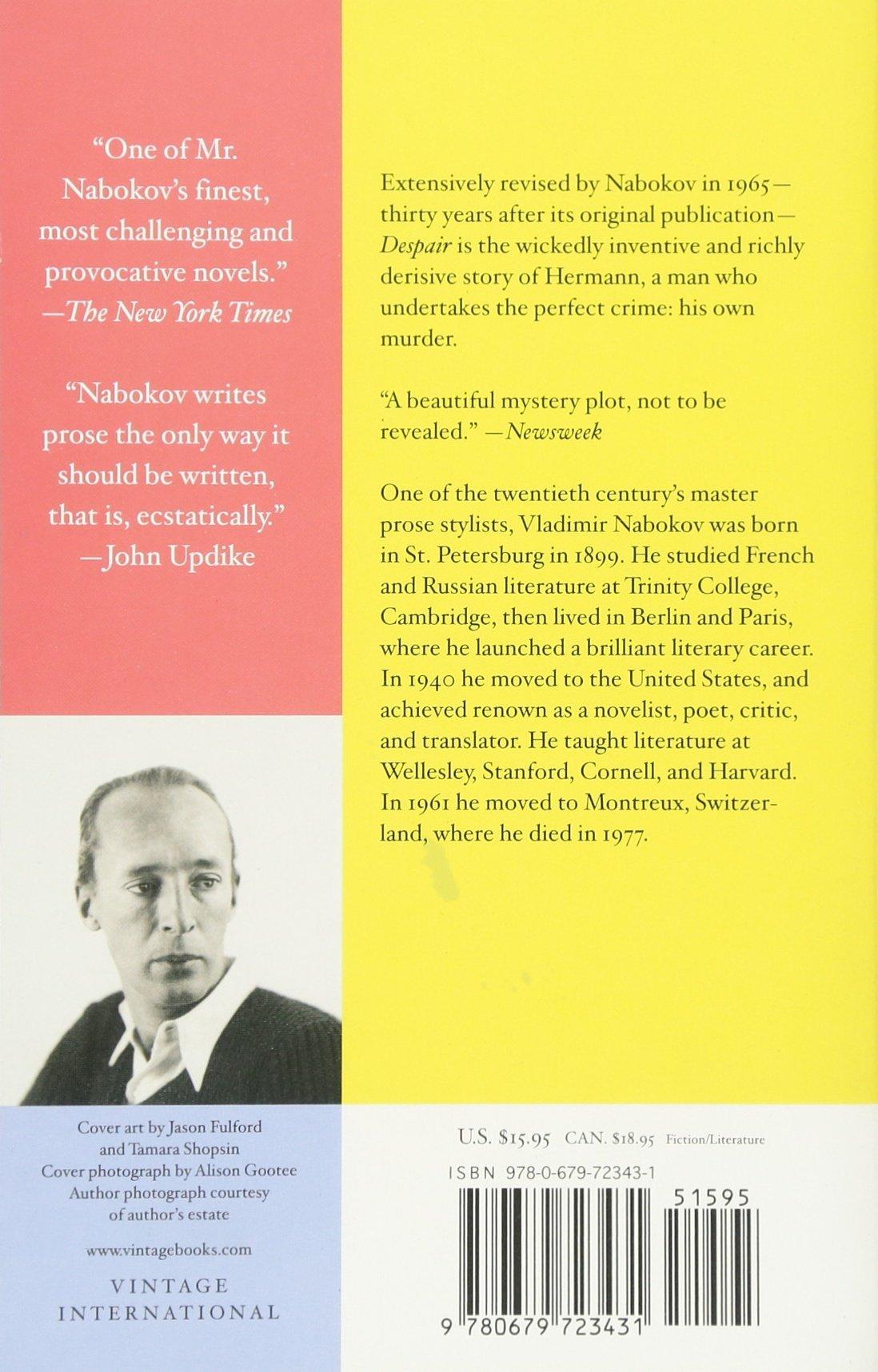 Nabokov Despair Pdf