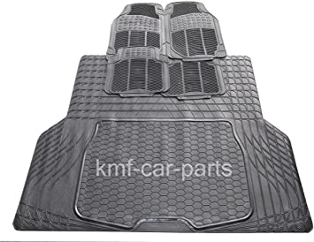 MITSUBISHI L200 DOUBLE CAB 99-06 UNIVERSAL HEAVY DUTY RUBBER BOOT TRUNK LINER MAT