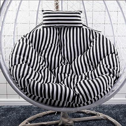 Amazon.com: HLDBW - Cojín para silla de mimbre con diseño de ...