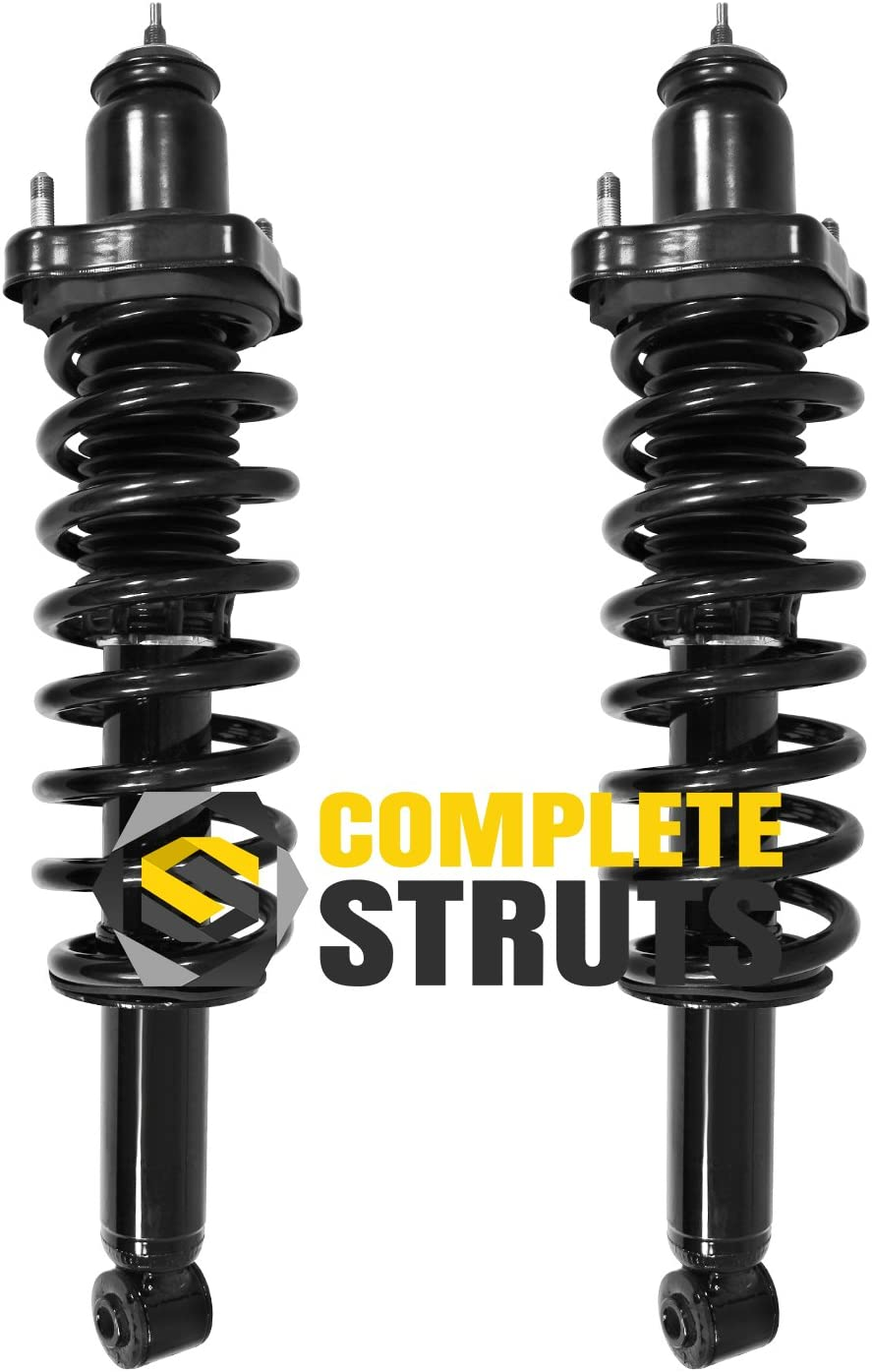 Pair Rear Quick Complete Struts /& Coil Spring Assemblies Compatible with 2007-2012 Dodge Caliber