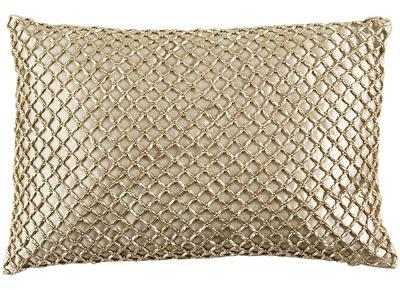 Metallic Beads Pillow | Pier 1 Imports