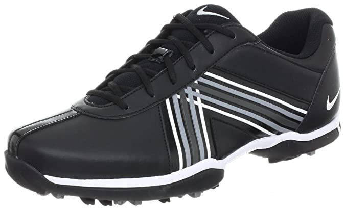 huge discount dc6d1 26f9b Nike Golf Women s Delight IV Golf Shoe, Black Metallic Silver White, 7 M  US  Amazon.co.uk  Shoes   Bags