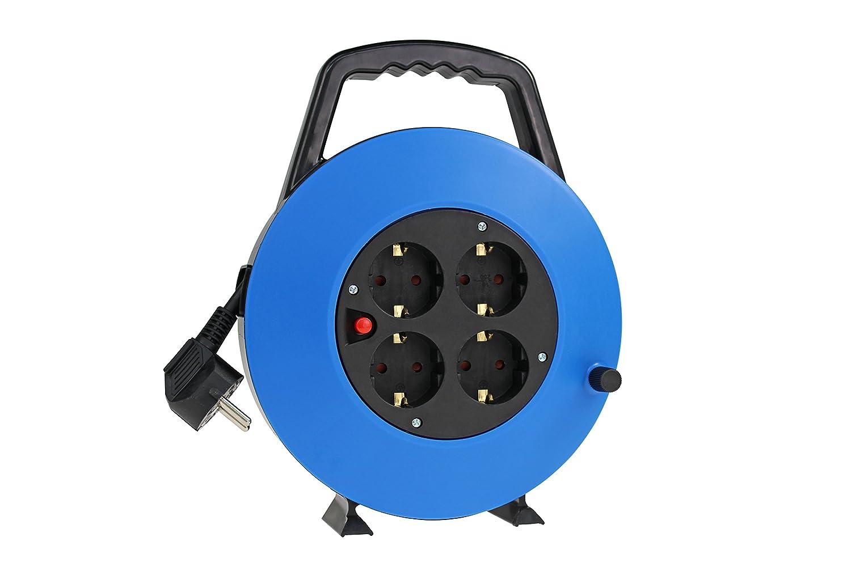 peque/ño y leich Interior Color Azul Cable de 5/m compacta Cable de Carga Ideal para el hogar /Schwabe 16098/Cable Box 230/V as/