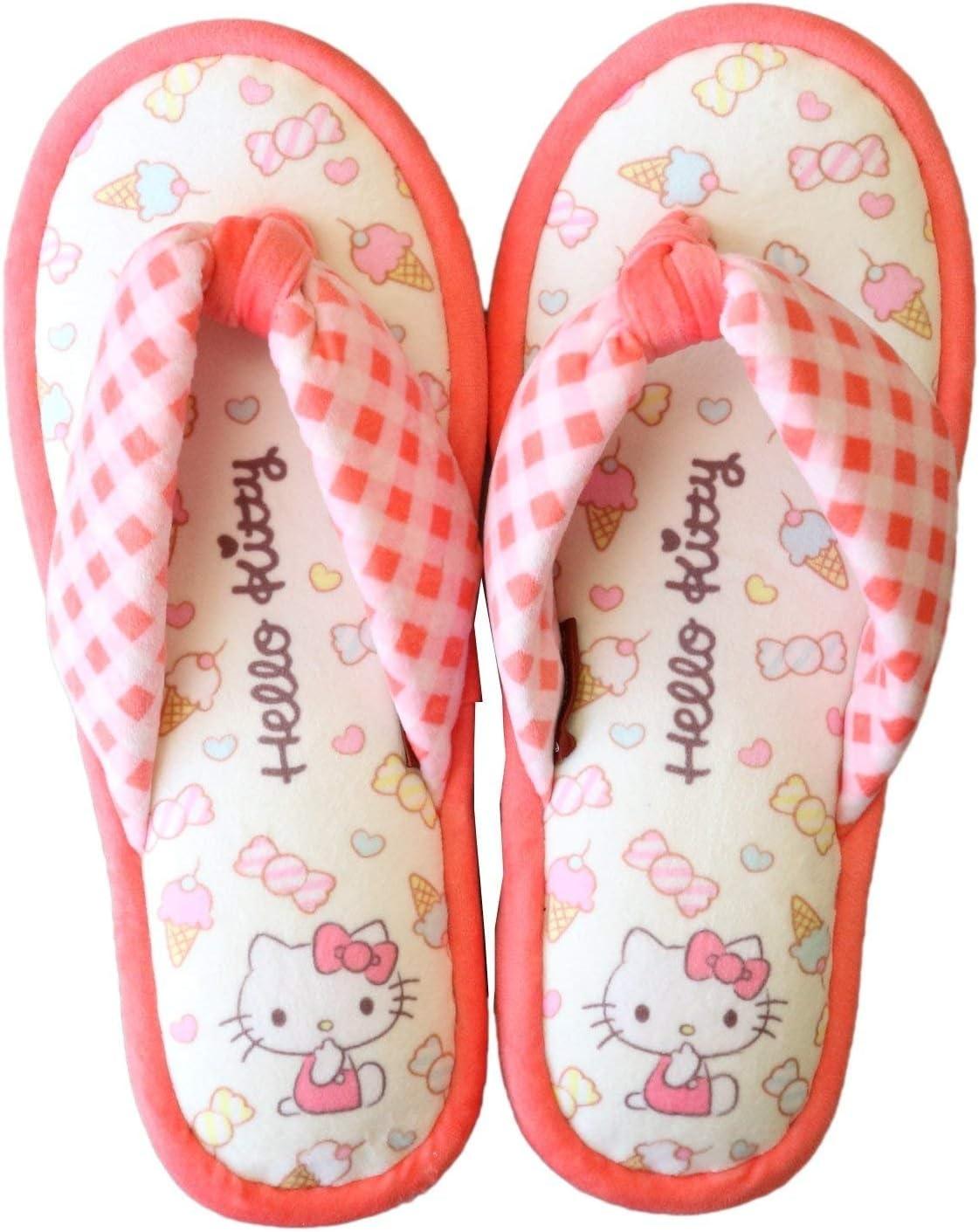 Sanrio Hello Kitty Room Slippers House