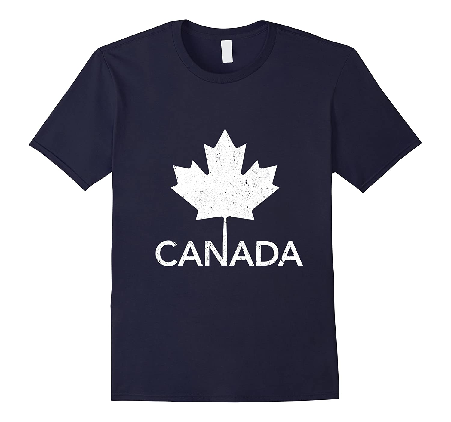 Flag of Canada Vintage T-Shirt Canada Day Tee Shirt-ah my shirt one gift