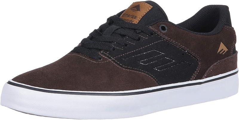 Emerica Reynolds Low Vulc Sneakers Damen Herren Unisex Braun/Schwarz