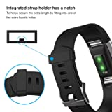 Humenn Bands Compatible with Fitbit Charge 2, 3