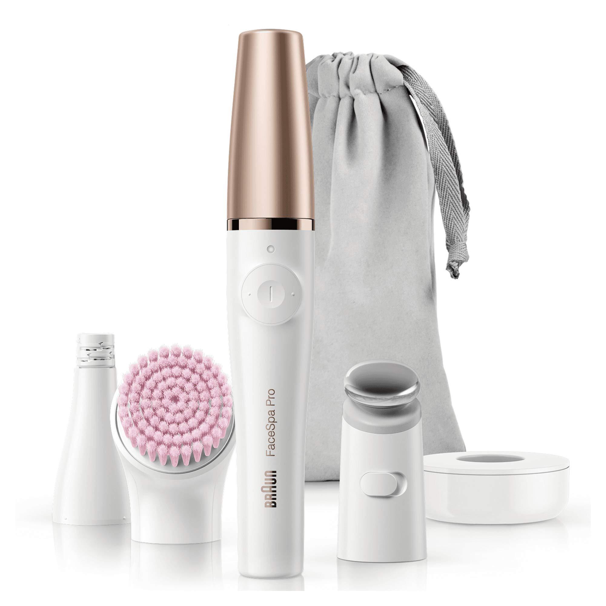 Braun Facespa Pro 912 Sistema depiladora Facial Mujer 3 en 1, Depiladora Eléctrica Facial Mujer