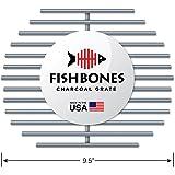 Fishbones Charcoal Fire Grate Upgrade for Large Big Green Egg (R)