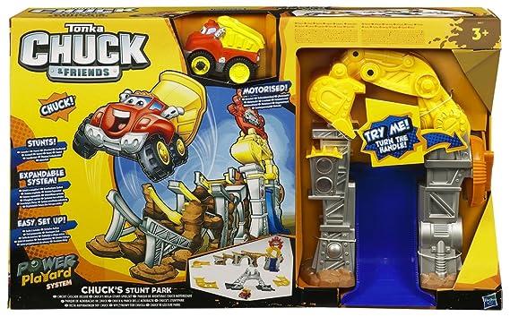 Tonka Chuck And Friends Chucks Stunt Park Amazon Toys Games