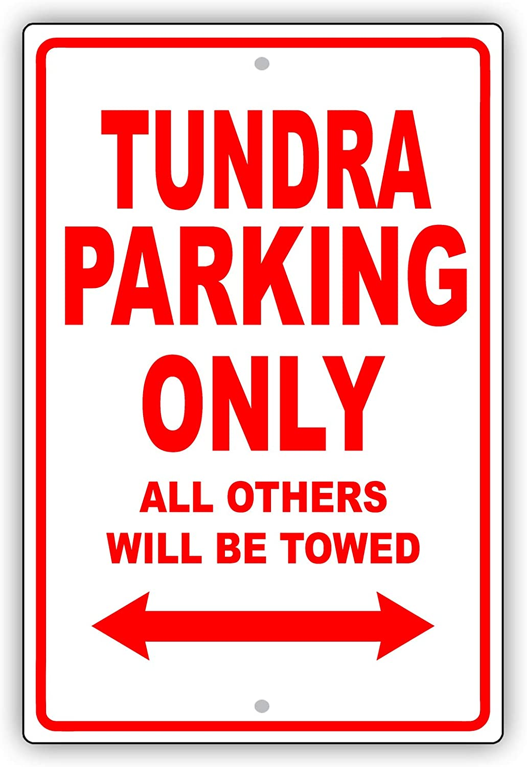 """Low Rider Parking Only Will Tow Notice 8/""""x12/"""" Aluminum Sign"""
