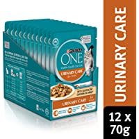 Purina One Adult Urinary Care with Chicken Wet Cat Food, 12 Pouch 0.92 kilograms