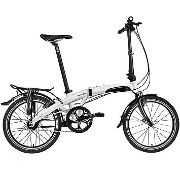 "Dahon MU P11 Bicicleta Plegable, Blanco, 20"""