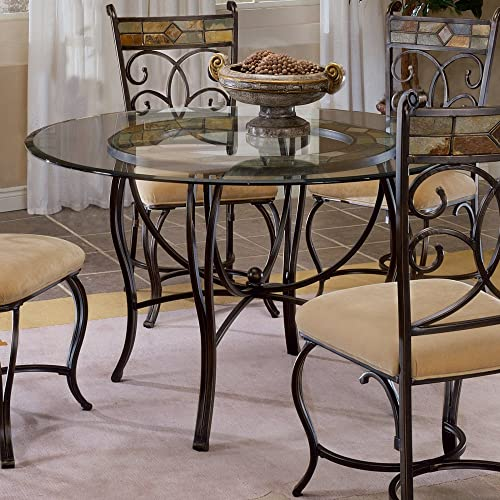 Hillsdale Pompei 48 Inch Dining Table