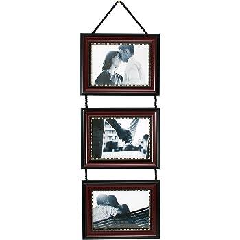 Amazon.com - MyBarnwoodFrames - Lightly Distressed Black Collage ...