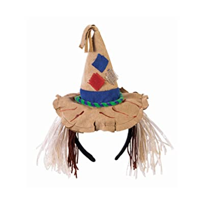 Forum Novelties Unisex-Adults Scarecrow Headband, Brown, Standard: Toys & Games