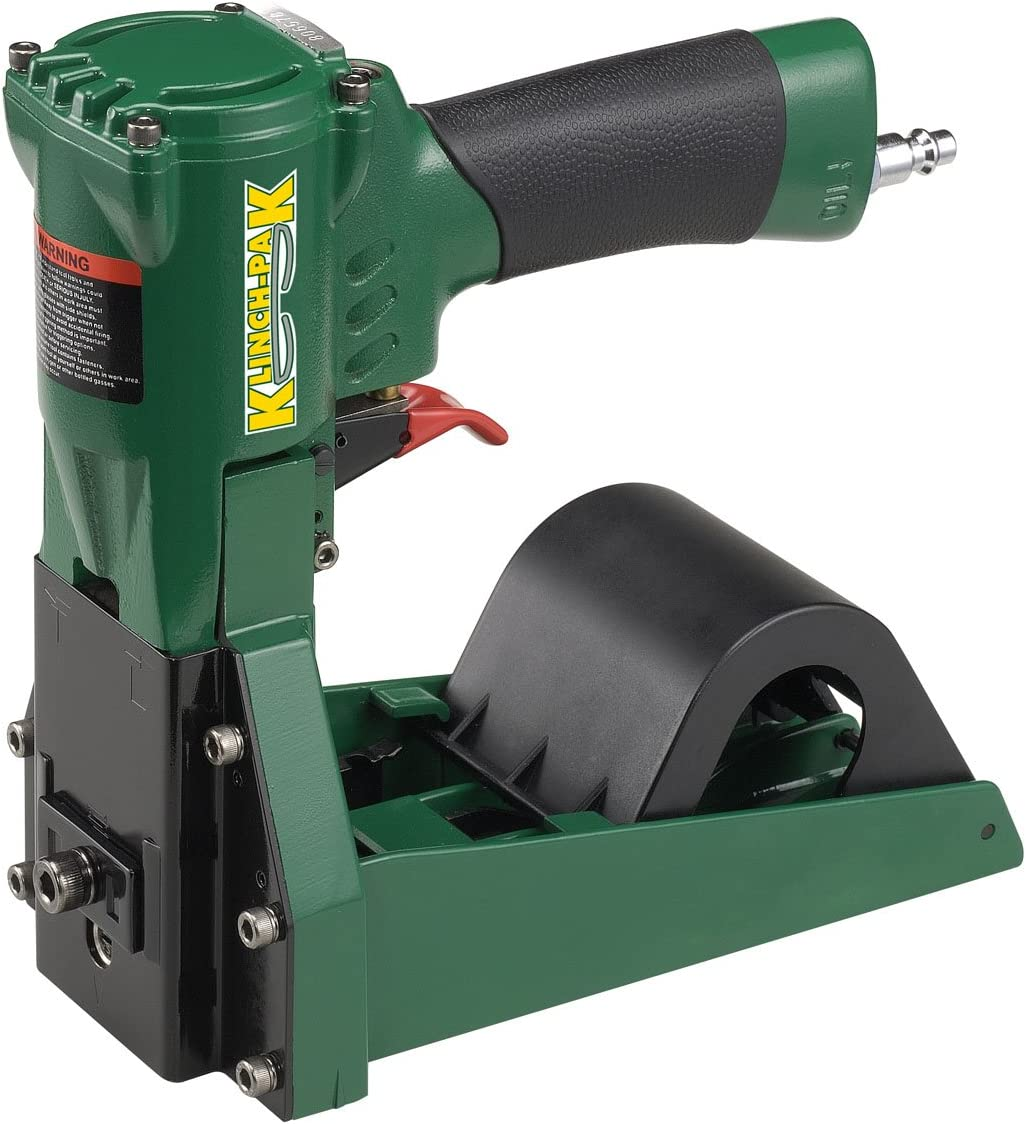 Klinch-Pak KP-SWC Pneumatic Roll Stapler for SWC Series Staples with 1-1//4-Inch Crown and 5//8-Inch to 3//4-Inch Leg Staples