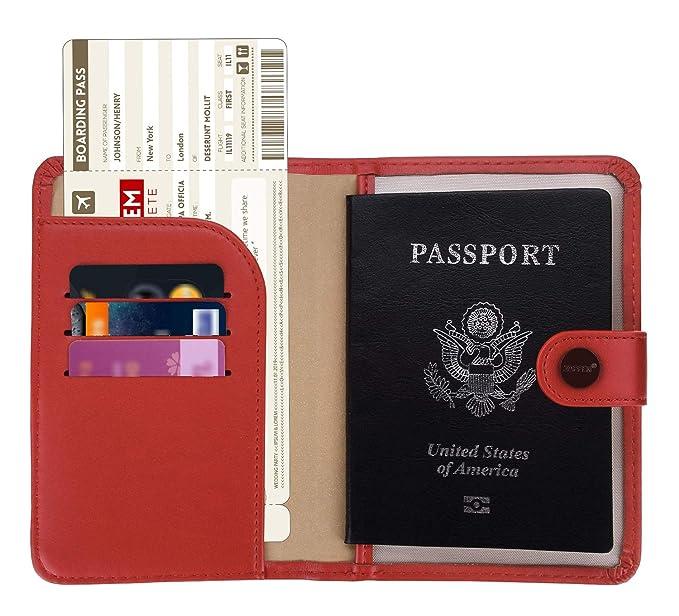 RFID 防盗旅行护照夹