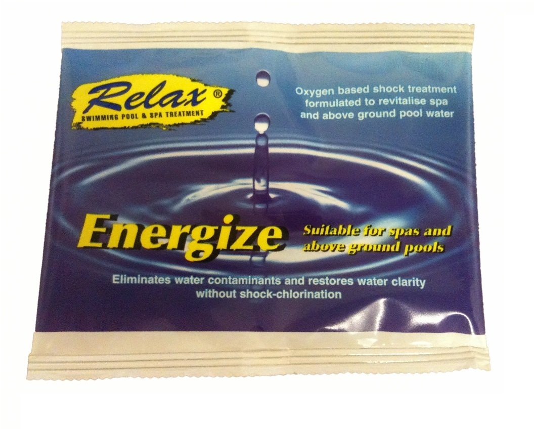Energise - Oxidiser Clarifier hot Tub Spa water treatment Relax