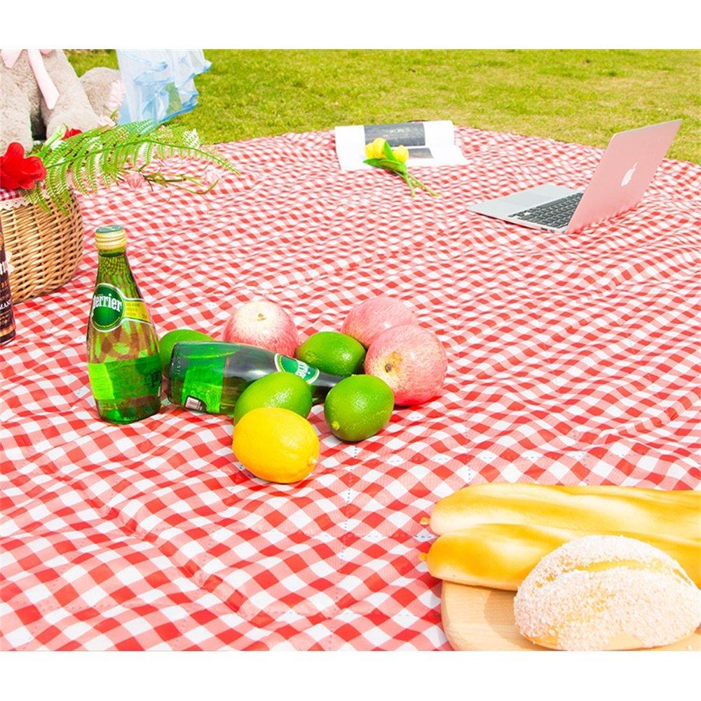 OUTDOOR Coco Wasserdichte Picknick-Decke im Freien Starke Starke Starke Rasen-Camping-Matte Spring Tour Portable 200  200cm (Farbe   H) B07CZFT93L Picknickdecken Trendy 8ef89c