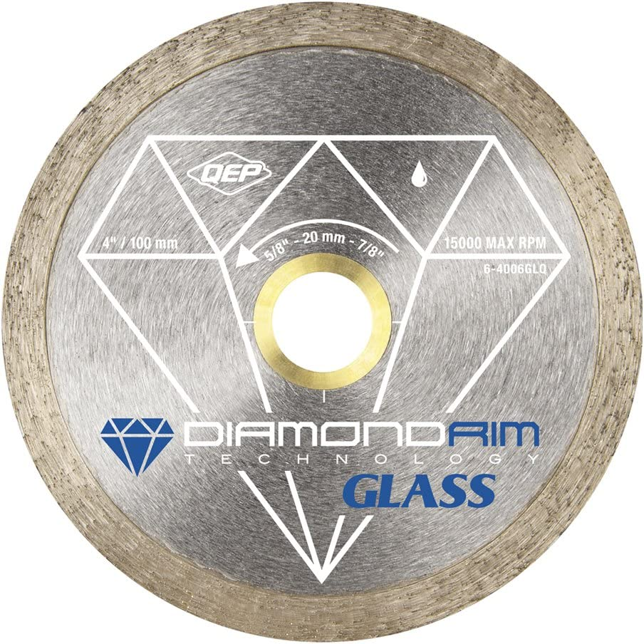 Disco Sierra 4 Pulgadas Borde Diamante para Porcelanato
