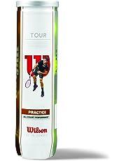 Wilson Tennisbälle, Champ Extra Duty, 4er Dose, Für alle Beläge