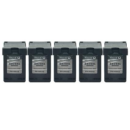 NineLeaf HP 302XL 302 XL - Cartuchos de tinta para HP Deskjet 1110 ...