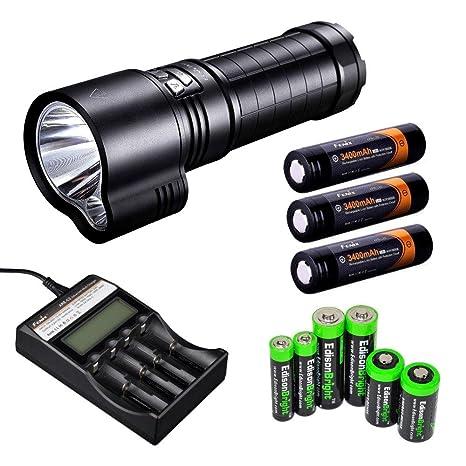 Amazon.com: Fenix tk51 – 1800 Lumen Dual Beam CREE XM-L2 U2 ...