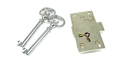 Antique Cabinet Lock With Key Drawer Lock With Key Flush Mount Lock