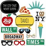 New York - Photo Booth Props Kit - 20 Count