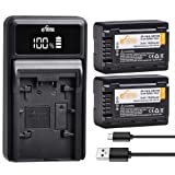 Kastar Battery Charger for Panasonic VW-VBT190 VW-VBT380 and HC-V550 HC-V550K HC-V550M HC-V550MK HC-V550CT HC-V750 HC-V770 HC-VX870 HC-VX980 HC-W570 HC-W850 HC-W870M HC-WX970 HC-WX990M HC-WXF991