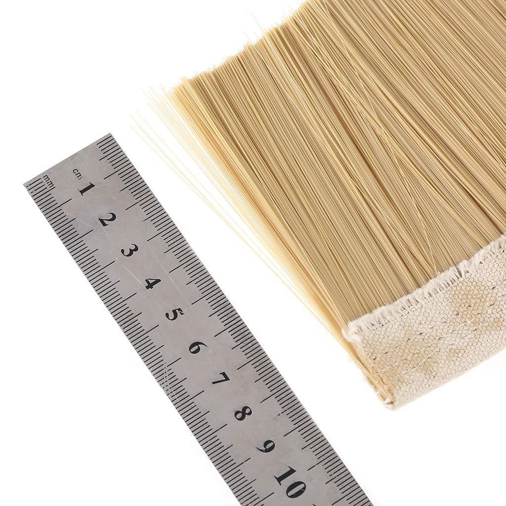 100 mm para la m/áquina de Grabado de aspiradora Limpia BIlinli Cepillo Flexible de Tiras de Nylon de 70 mm