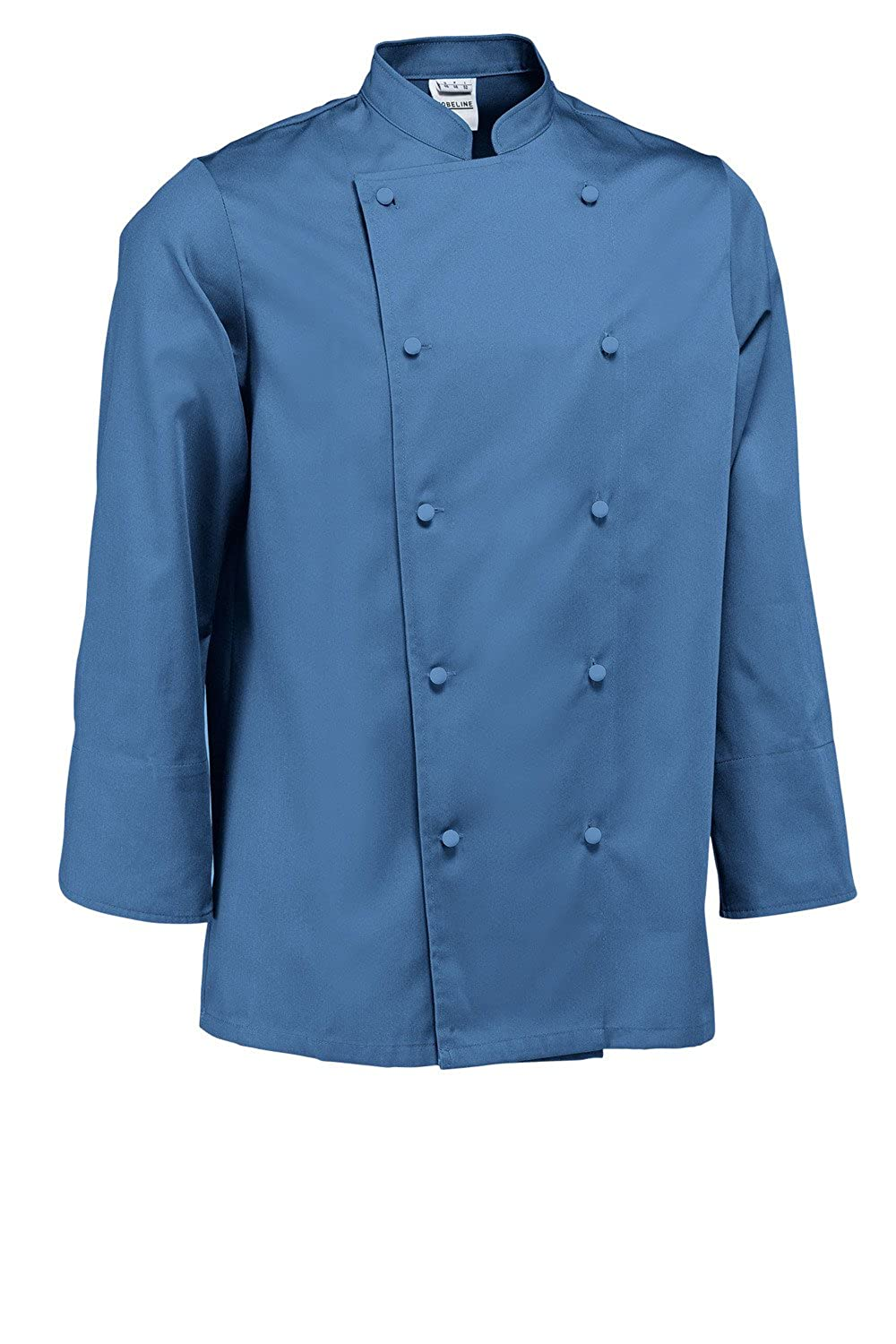 JOBELINE Paolo Series Mens Long Sleeve Chef Jacket Comfortable, Breathable &