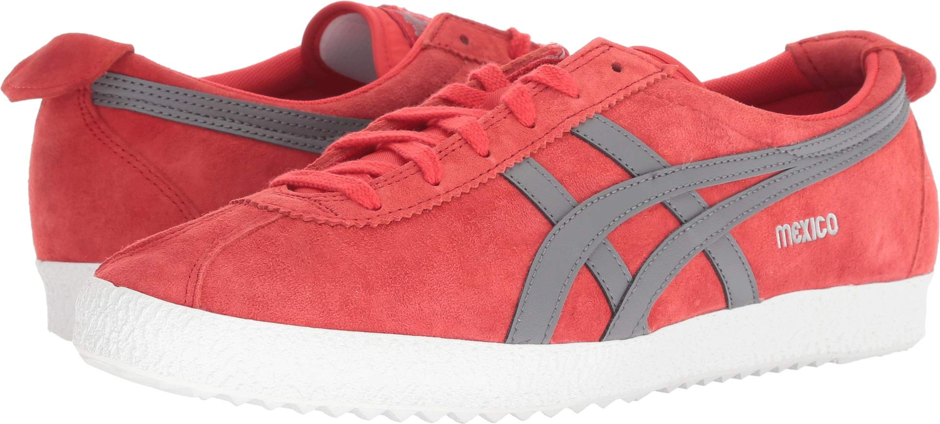 Onitsuka Tiger by Asics Unisex Mexico Delegation Red Alert/Carbon 11.5 Women / 10 Men M US Medium