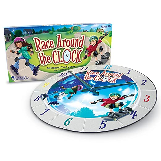 Amazon.com: Race Around the Clock: Toys & Games