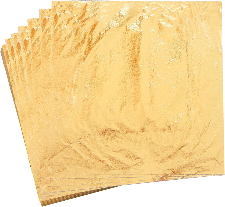 Lartisanat Les Meubles qianqian Multicolore Feuille dor,Imitation Feuille dor,Feuilles de Feuille dor DImitation,Feuilles de Papier Dor/é Imitation,pour la D/écoration Artistique la Dorure