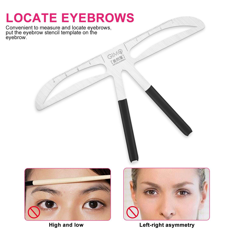Amazon Permanent Tattoo Eyebrows Ruler 3d Balance Eye Brow