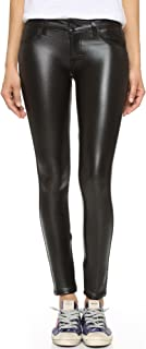 product image for Siwy Women's Hannah Wet-Look Slim Cropped Jean