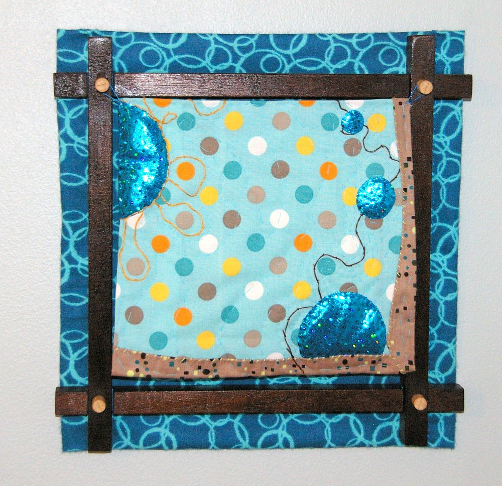 Everyday Balloons Quilt by Puffball Designs
