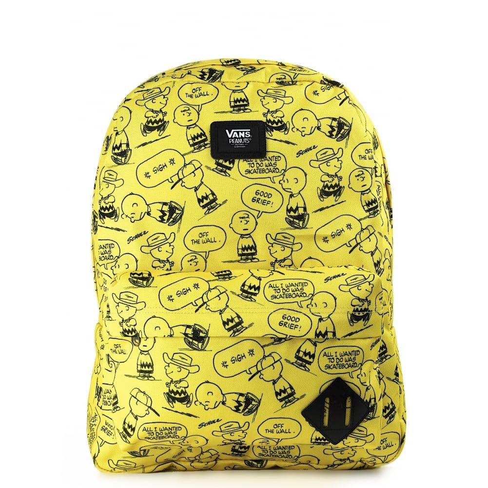Vans Mochila de a diario Charlie Brown Peanuts amarillo VONIQHZ